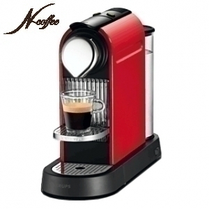 Nespresso Krups XN7205 Fire Engine Red