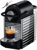 Nespresso PIXIE Krups XN300D Stainless Steel (Lines)
